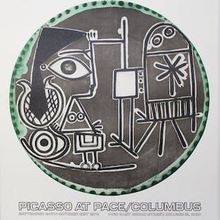 Pablo Picasso - Jacqueline au chevalet - 1978
