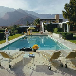 Slim Aarons (1916-2006) - 'Kaufmann Desert House', Palm Springs, 1970