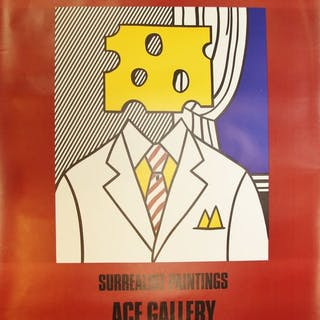 Roy Lichtenstein - surrealistic paintings