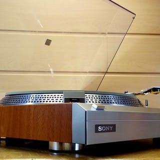 """Sony - PS 313 Limited Edition """"Wood"""" - Turntable"""