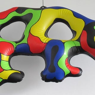Niki de Saint Phalle - Rhino - Inflatable Mobile