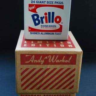 Andy Warhol - Brillo Box limited edition