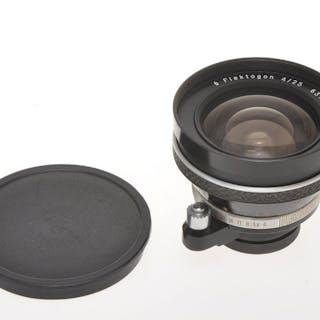 Carl ZeissJena wide angle lens 25mm F:4 Flektogon for Exakta cameras, exc+++