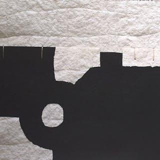 Eduardo Chillida, Valerio Adami - Galerie Lelong, Paris1990/1988 - 1990er Jahre