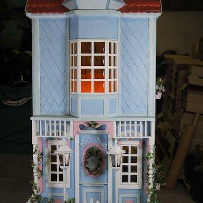 La Maison des poupées - Scènes animées avec poupées automates - XXème siecle