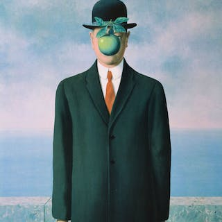 René Magritte (after) - Le Fils de l'Homme (Son of Man)