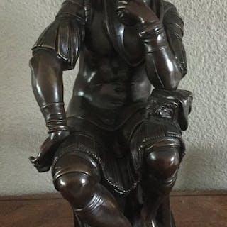Eugène Cornu (? - 1875) naar Michelangelo Buonarroti- Sculpture