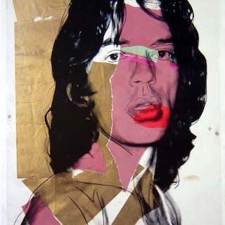 Andy Warhol - Mick Jagger - 2010