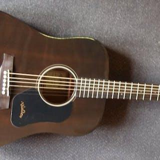 Walden - Dreadnought Transparant Zwart, 351SBG - Steel-stringed guitar