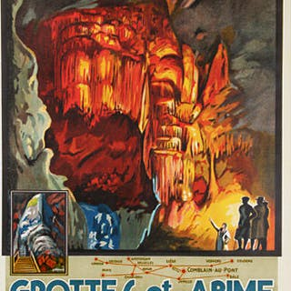 Grégoire - Chemins de Fer Belge - Grottes et Abime...