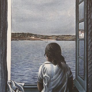 Salvador Dalí (after)- Woman at a Window