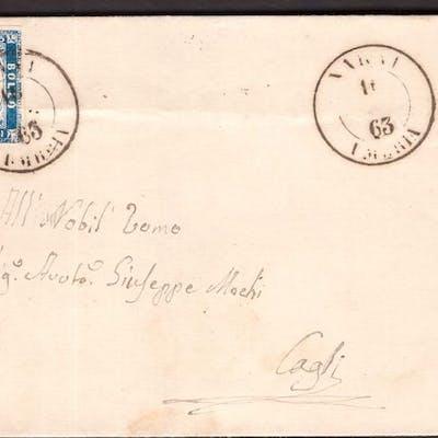 Italien Königreich 1863 - 15 c