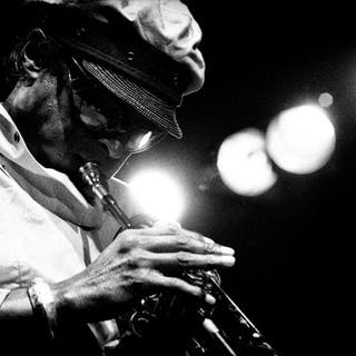 Paul Robert (1955-) - Miles Davis, North Sea jazz festival, 1984