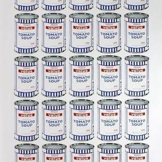 Banksy - Tesco Soup Can