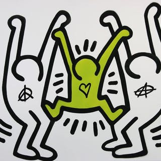 Ziegler T - My Kid Just Ruined My Keith Haring (green)