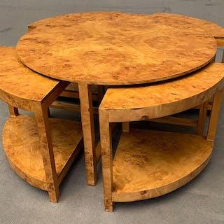 Modulare Art Deco style Acero- Coffee table