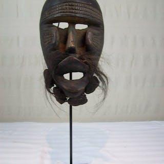 Maske (1) - Holz - DAN-KRAN - YAKUBA - Liberia