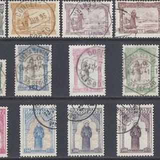 Portugal 1895 - 7º Centenary of San Antonio set - Mundifil 111/125