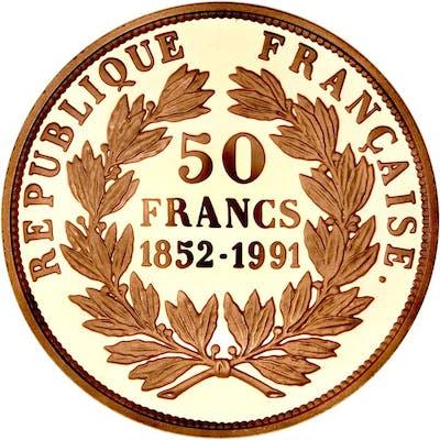 France - 50 Francs 1991 Louis-Napoleon Bonaparte - Or