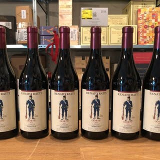 """2017 Renato Ratti Langhe Nebbiolo """"Ochetti"""" - Piemonte - 6 Bottiglie (0,75 L)"""