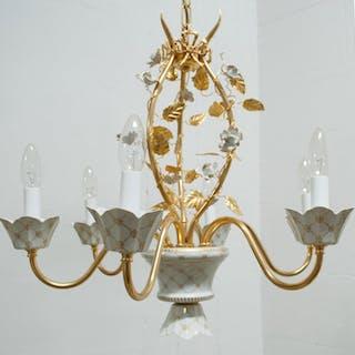 Giulia Mangani - fine porcellana - Kronleuchter aus reinem Gold