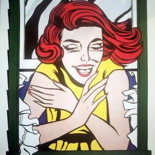 Roy Lichtenstein - Reflections (Girl in window)- 1999