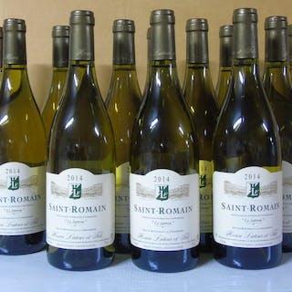 2014 Saint-Romain - Domaine Henri Latour - Bourgogne - 12 Bouteille (0,75 l)