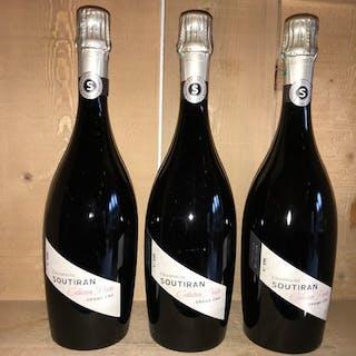 "Soutiran ""Collection Privée"" Brut - Champagne 1er Cru - 3 Bouteilles (0,75 L)"
