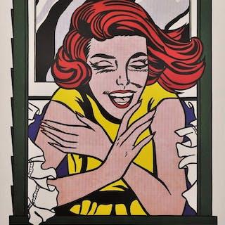 Roy Lichtenstein - Reflections (Girl in window) - 1999