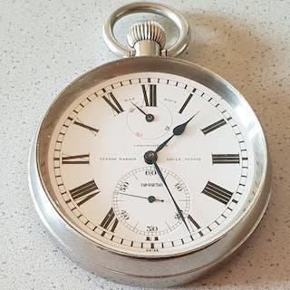 33. Ulysse Nardin Locle - Taschenuhr - Chronometer - Herren - Schweiz 1942