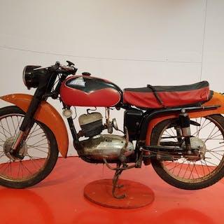 Moto Gitan - Libeccio - 125 cc - 1958