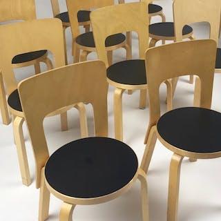 Alvar Aalto - Artek - Stühle (6x)