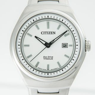 Citizen - Eco-Drive solar Titanium Men's 43mm - AW1251-51A- Men - 2011-present