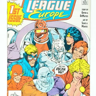 Top Collection Justice League Europe + International Vol.1