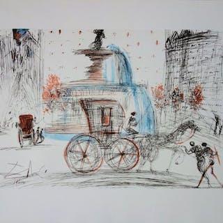 Salvador Dali- New-York City : Plaza