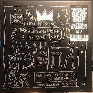 Jean-Michel Basquiat x Rammellzee -Rammellzee vs K-Rob BEAT POP