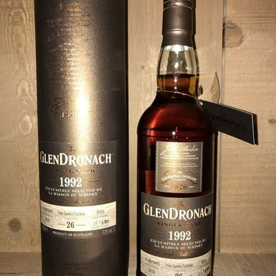 Glendronach 1992 26 years old PX puncheon 8316 for LMDW - b. 2018 - 0.7 Litres