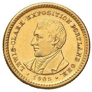 USA - 1 Dollar 1905 - Lewis & Clark - Gold