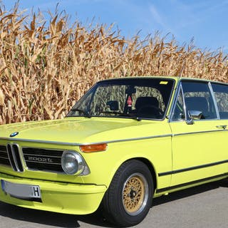 BMW - 2002 2002 Touring Traumwagen in golfgelb - 1973