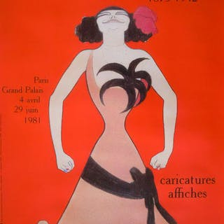 Leonetto Cappiello - Paris Caricatures affiches - 1981