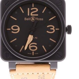 Bell & Ross - BR01-92 Heritage - BR0192-HERITAGE - Men - 2019
