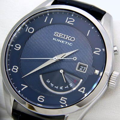 "Seiko - Kinetic 100M ""Blue"" - ""NO RESERVE PRICE"" - Uomo - 2018"