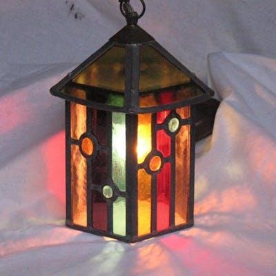 Amsterdamer Schullampe mit Originalleuchte