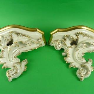 Luigi Fabris - Ceramiche di Bassano - Mensole (2) - Ceramica
