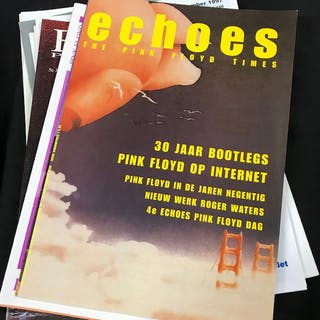 Pink Floyd - Collection of 11 vintage 1990s fan magazines...