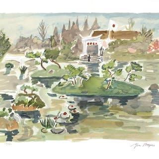 Yves Brayer - Le Jardin Japonais