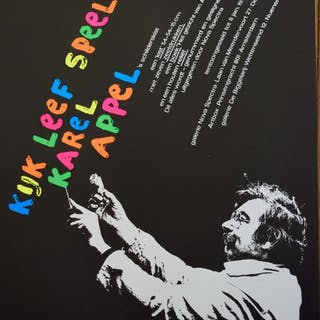 Karel Appel - Kijk, Speel, Leef met Karel Appel - 1977