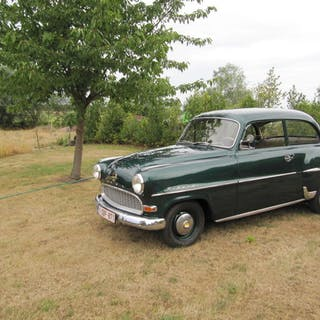 Opel - Olympia Rekord P1 - 1956