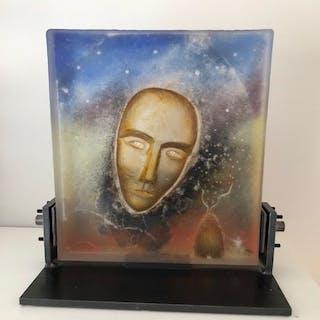 Bertil Vallien for Kosta Boda - glass work of art Intruder