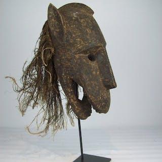 Maske (1) - Holz - DAN - KRAN - Liberia